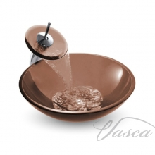 умывальник Rea Bowl 42x42 71004 brown (REA-U0053)