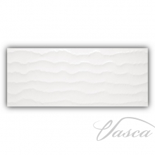 плитка Porcelanite Dos 8203 33,3x80 relieve dynamic blanco
